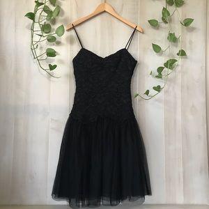 Nine West little black evening dress